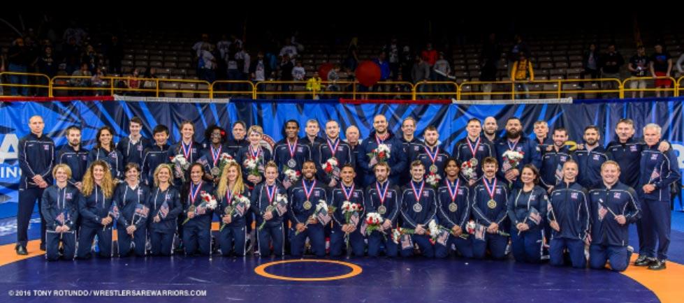 2016 USA Wrestling Team
