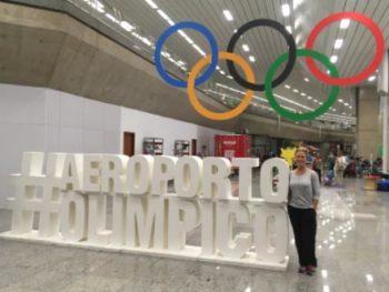Dr. Kells, DC at the Rio De Janeiro Airport