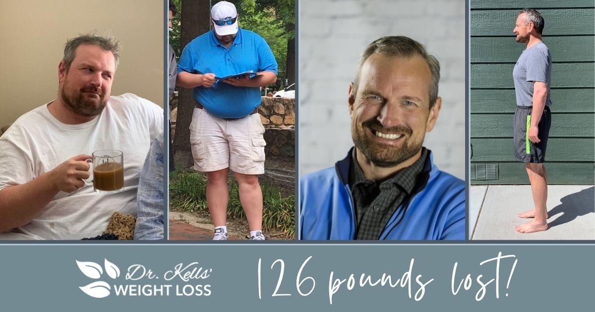 126 POUNDS LOST, MATT WHITE'S WEIGHT LOSS JOURNEY