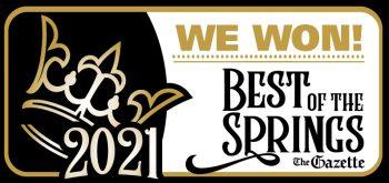 Winner Best Of The Springs Award Colorado Springs
